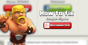 Can't Connect to Google in Clash of Clans
