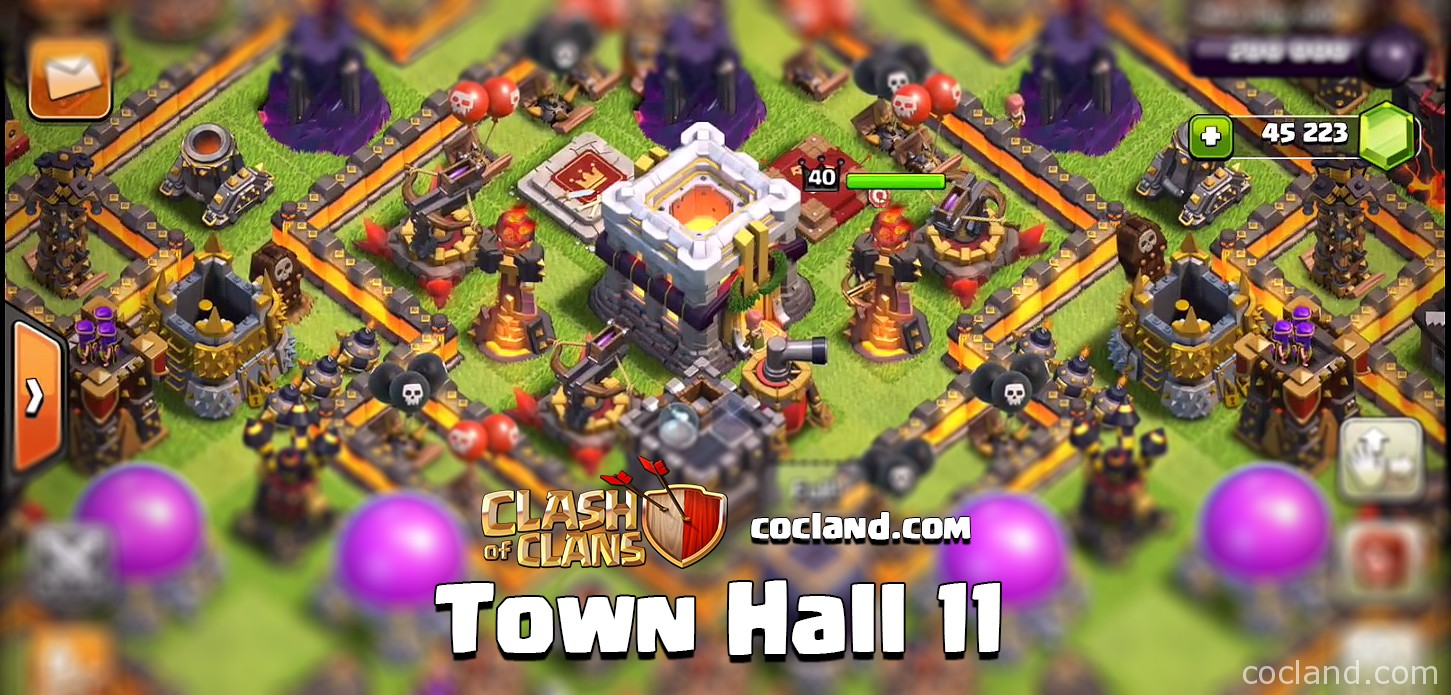 Town Hall 11 in Clash of Clans
