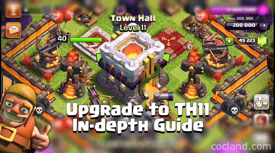 When should I upgrade to Town Hall 11?
