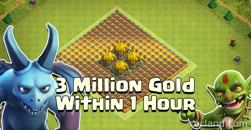 How to farm 3 MILLION Gold within 1 hour