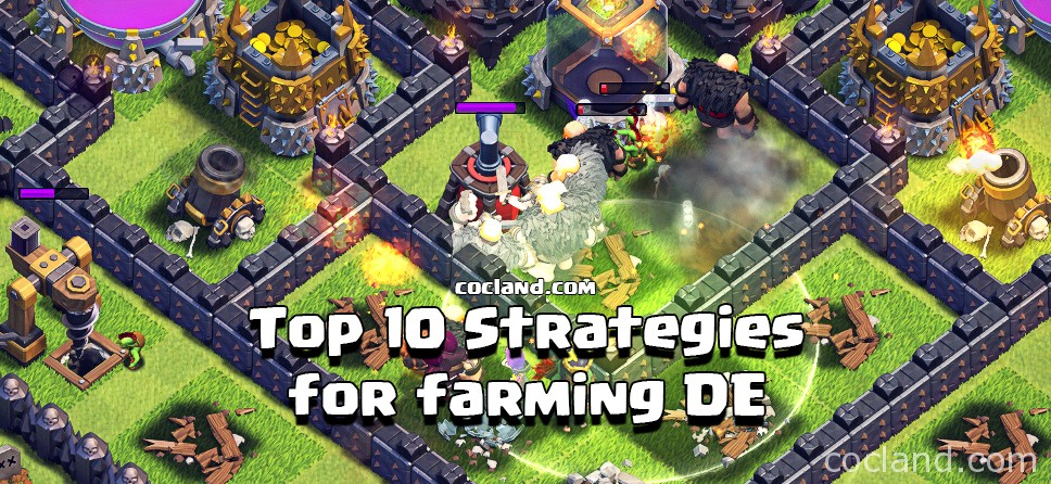 10 Best Attack Strategies for Dark Elixir
