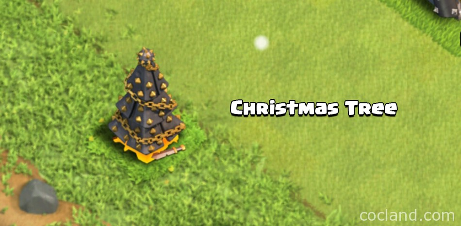 Christmas Tree Clash of Clans 2015