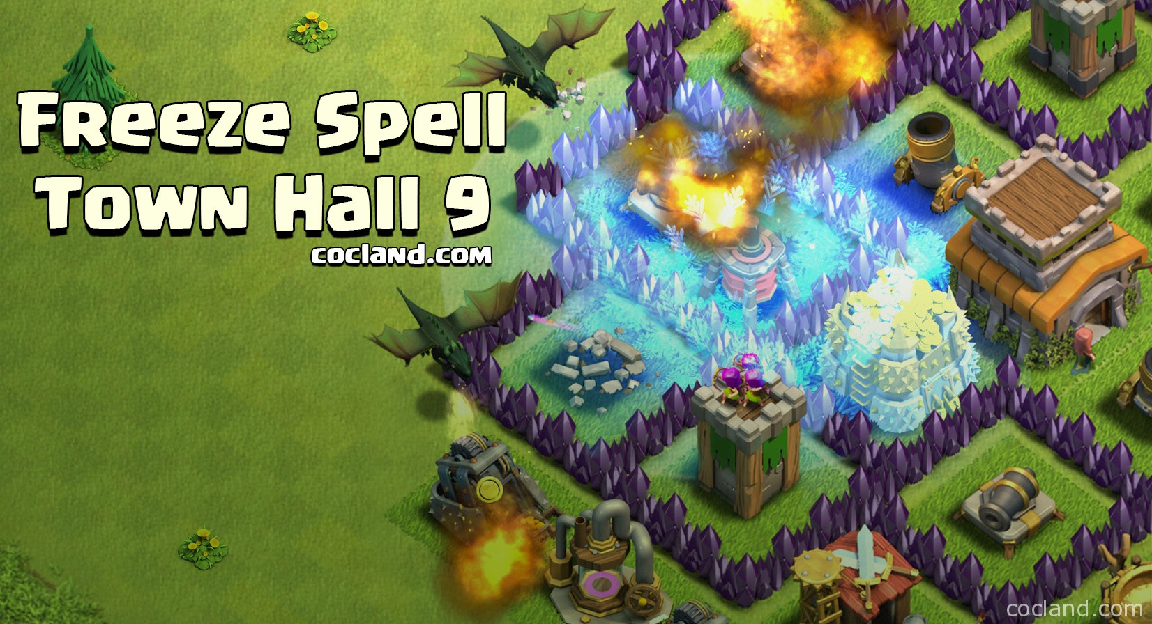 Freeze Spell at TH9