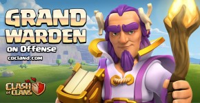Grand Warden Hero in Clash of Clans