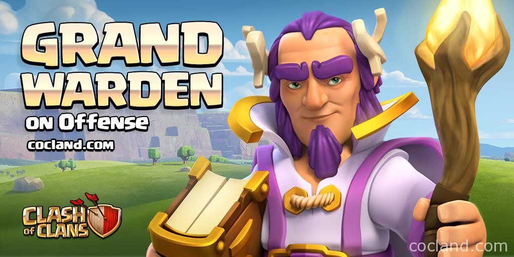 Clash of Clans Town Hall 11 Grand Warden