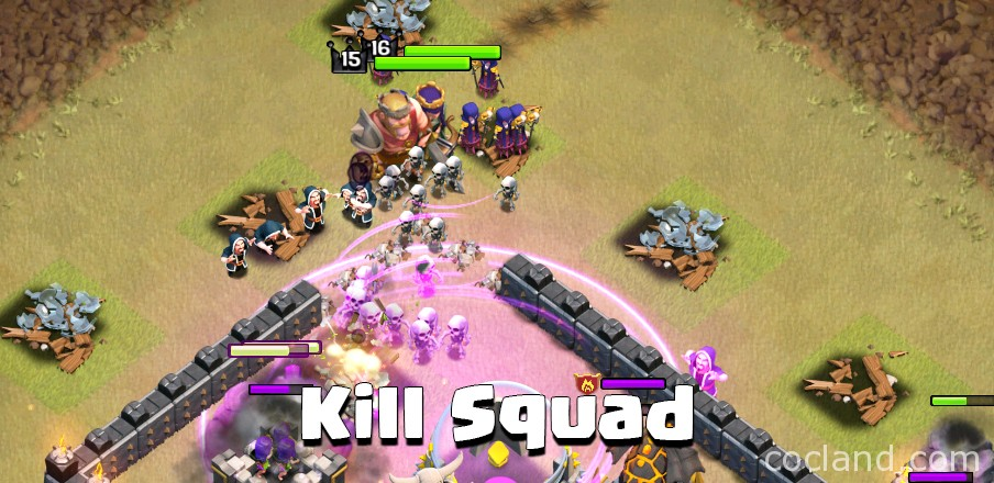Clash of Clans Kill Squad