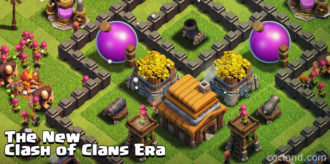 The New Clash of Clans Era
