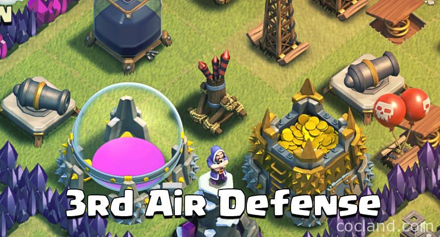 3rd air defense at town hall 7