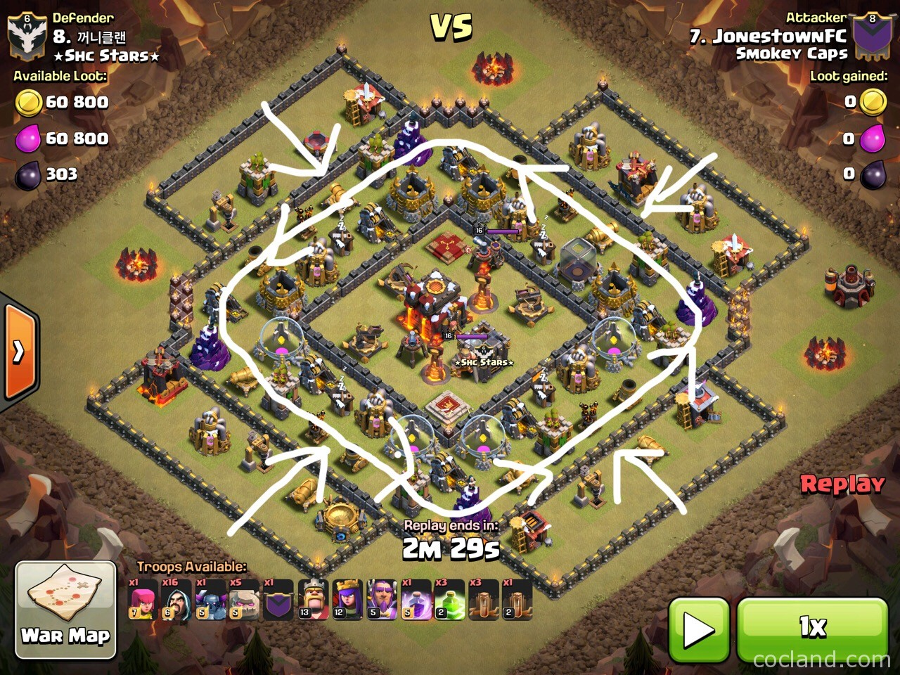 6 Golem Attack Strategy