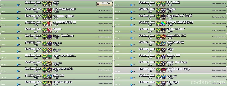 Clan War Win Streak