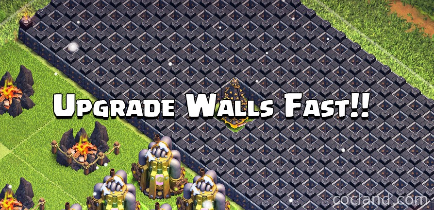 Clash of Clans Walls
