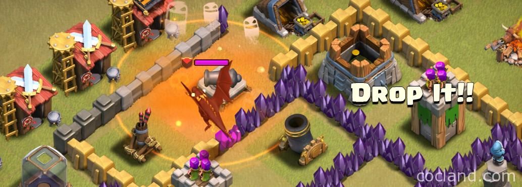 poison spell on clan dragon