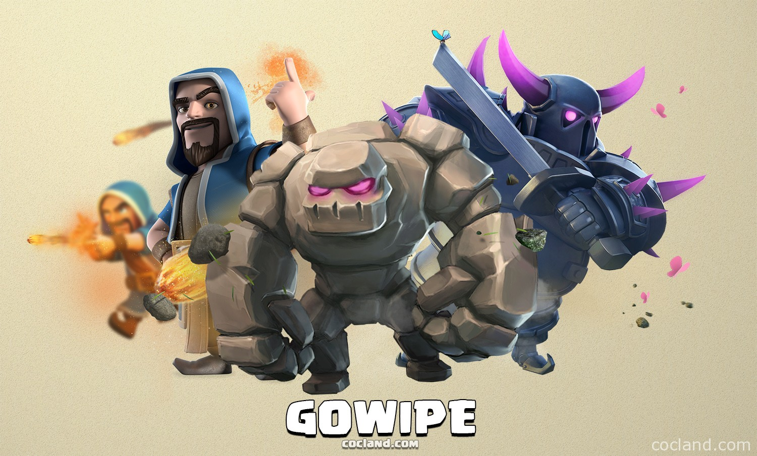 GoWiPe Attack Strategy in Clash of Clans