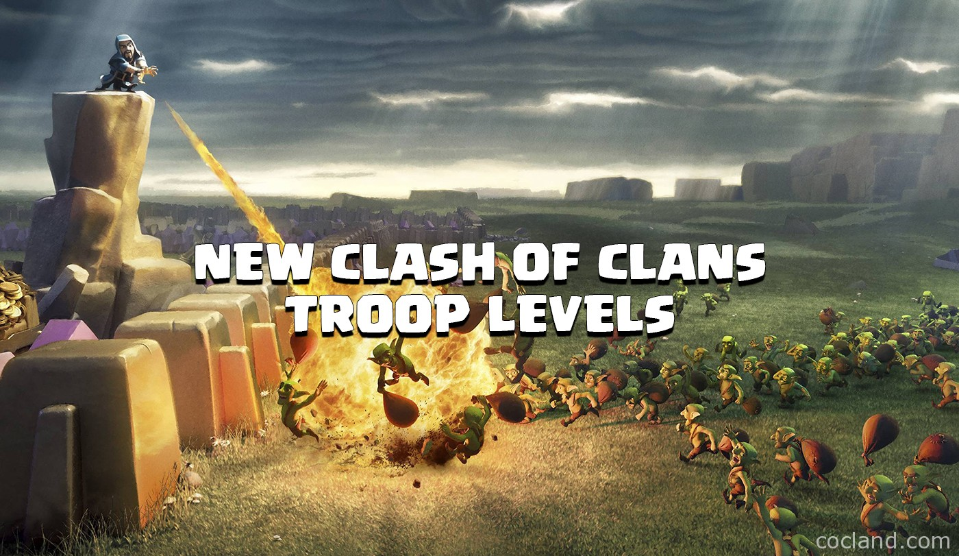 New Clash of Clans Troops