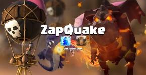 zapquake strategy in clash of clans