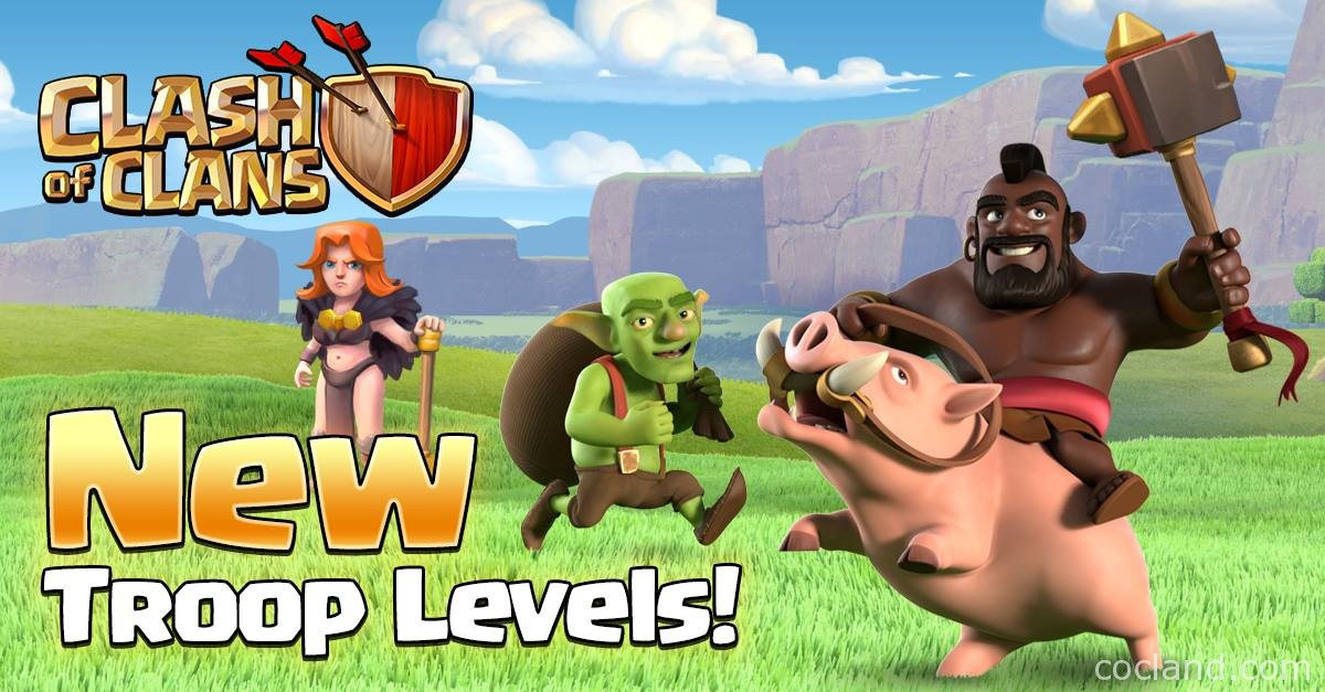 March Update New Troop Levels
