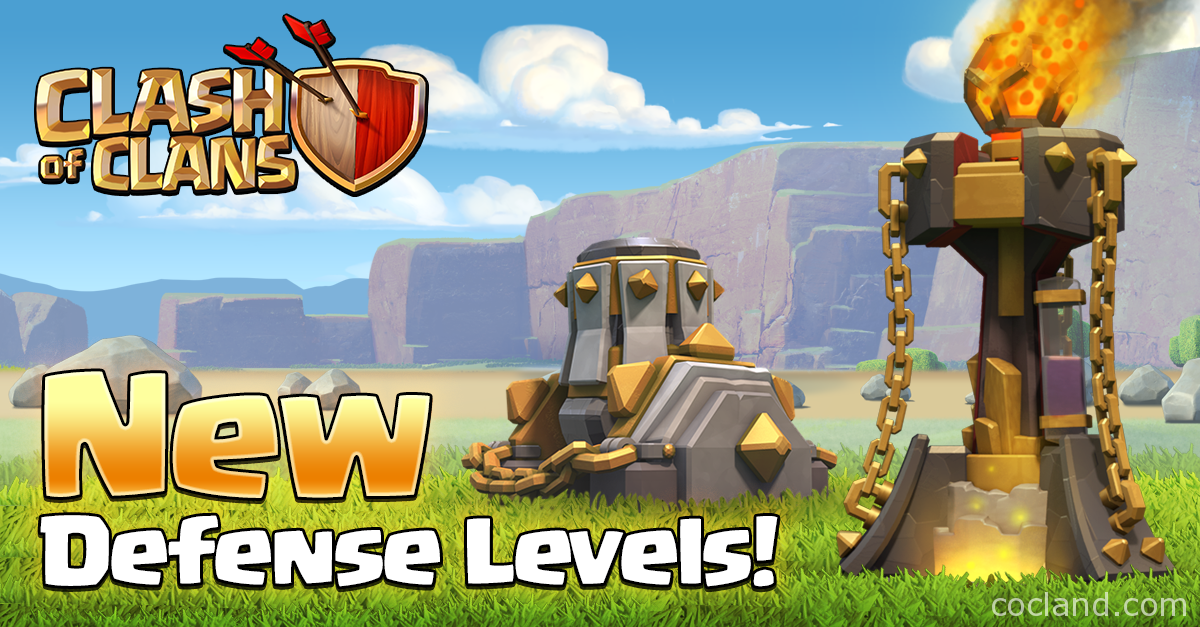 New Mortar and Inferno Tower Levels