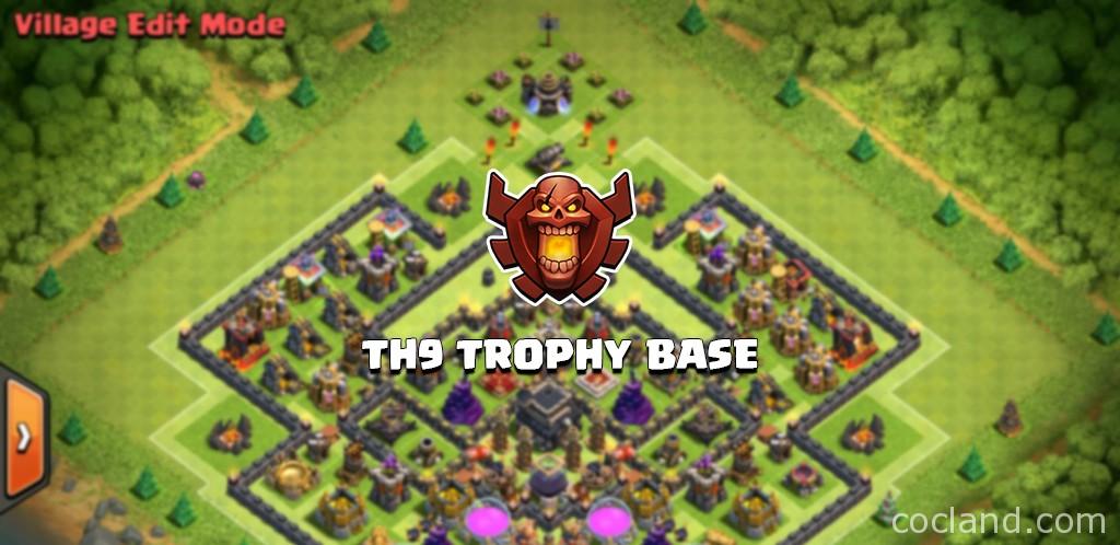 Th9 Best Defense Trophy Base 2
