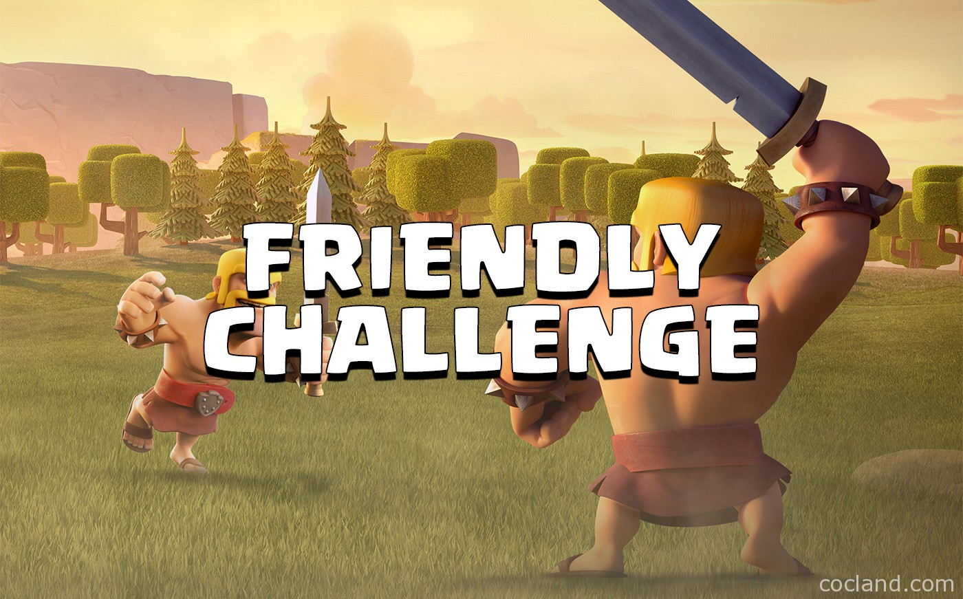 Clash of Clans Friendly Challenge