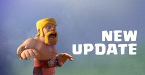 clash of clans update