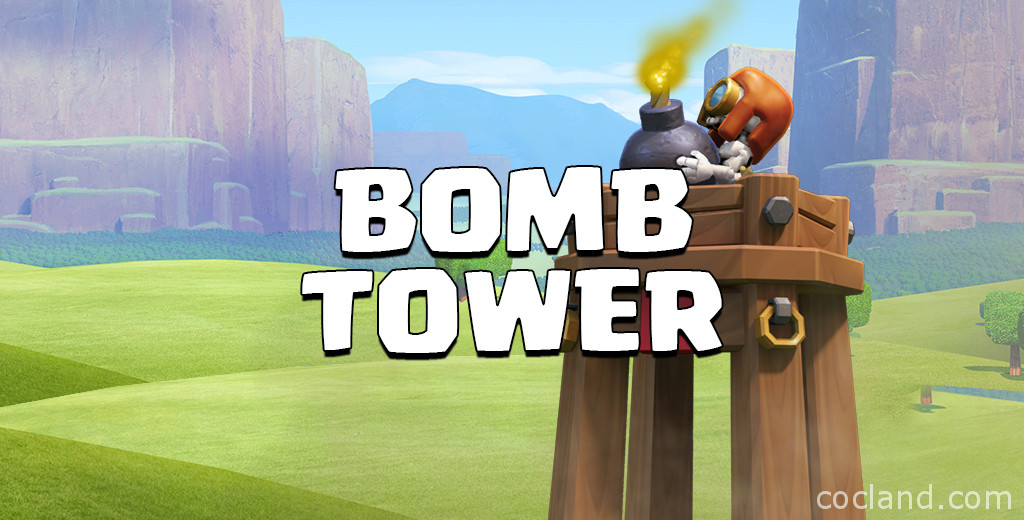 Bomb Tower Clash of Clans