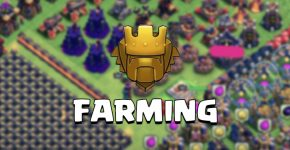 farming in titan league clash of clans