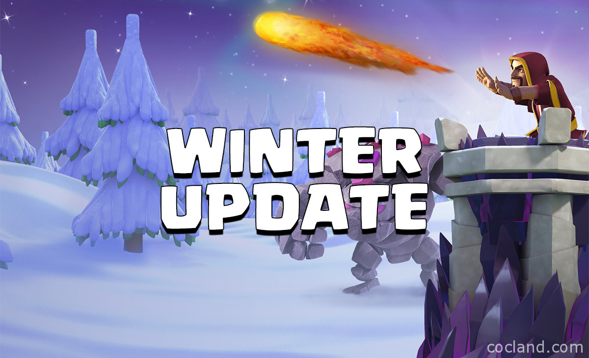 clash of clans december 2016 update the winter update is. Black Bedroom Furniture Sets. Home Design Ideas