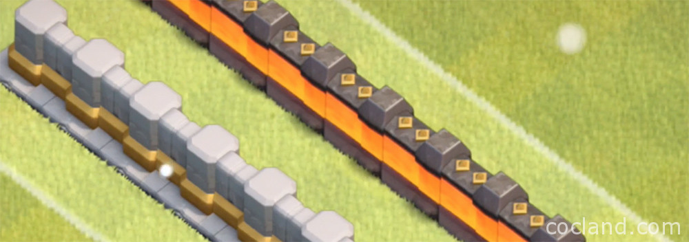 wall level 12 clash of clans